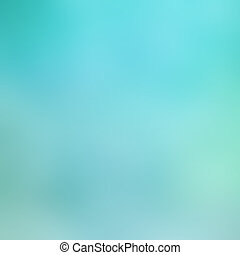 Beautiful turquoise light background