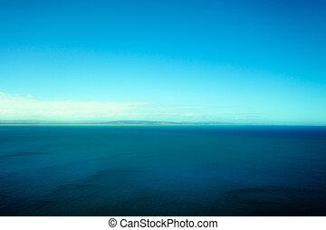 Beautiful turquoise ocean landscape.