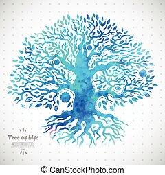 Unique ethnic tree of life - Beautiful Unique ethnic tree of...