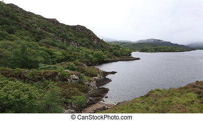 Beautiful Upper Lake in Killarney National Park. Ring of...