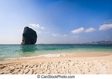 Beautiful vacation resort beach