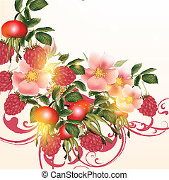 Beautiful vector background with