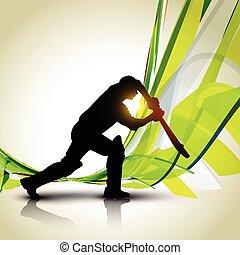 vector cricket background - beautiful vector cricket...