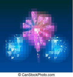 Beautiful Vector Fireworks
