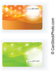 Beautiful Vector Gift card
