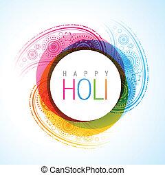 vector holi festival - beautiful vector holi festival...