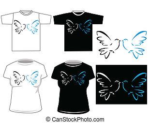 Beautiful vector t-shirt design
