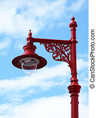 Beautiful, victorian street lamp