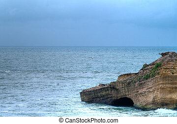 ocean - beautiful view, blue ocean, seascape
