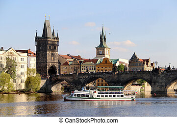 Charles bridge, Prague, Czech Republic - Beautiful view...