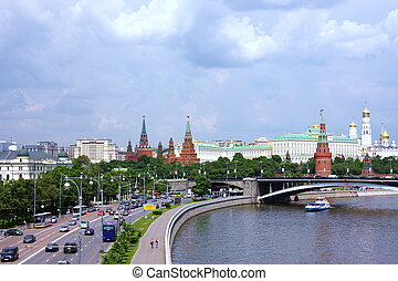 beautiful view in Moscow