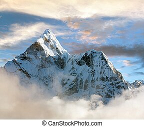 Beautiful view of Ama Dablam