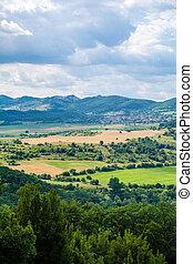 Beautiful view of bulgarian mountain
