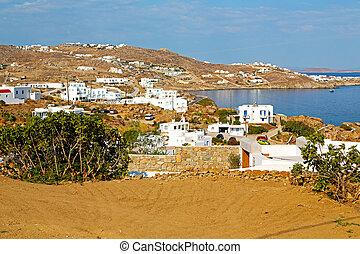 Beautiful view of greece