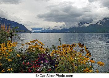 beautiful view of Lake Geneva