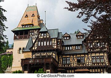 Pelisor Castle in Sinaia, Romania