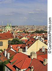 Beautiful view of Prague