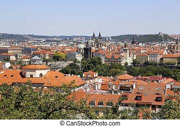 Beautiful view of Prague, Czech Republic