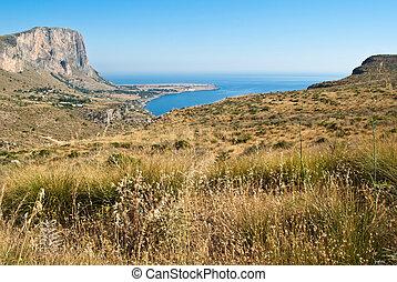 San Vito Lo Capo gulf In Sicily