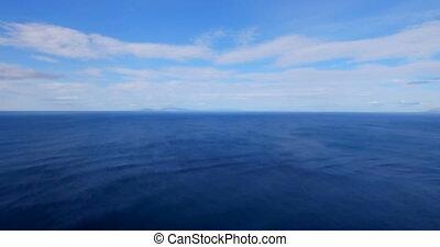 Beautiful view of sea 4k - Aerial of beautiful view of sea...