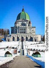 St-Joseph's Oratory - Beautiful view of St-Joseph's Oratory...