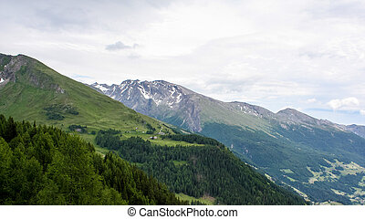 Beautiful view of the Austrian Alps