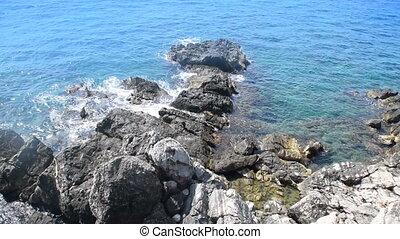 beautiful view of the seashore