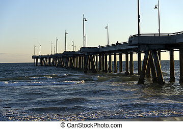 Beautiful View of the Venice Pier