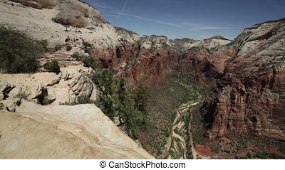 Beautiful view of Zion National Pa