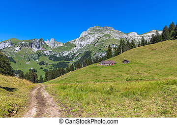 Beautiful view on the hiking path toward Santis - Beautiful ...