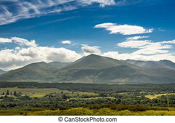 Beautiful views of the Scottish highlands