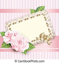 beautiful vintage greeting card
