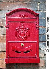 vintage letter-box
