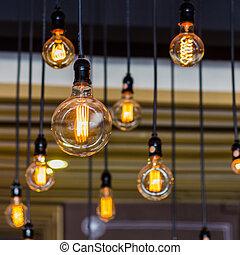 Lighting decor. - Beautiful Vintage Lighting decor.