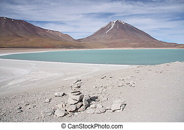 Beautiful volcano landscape