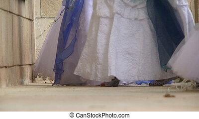 Beautiful walk brides