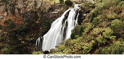 Beautiful Waratah Falls in Waratah, Tasmania. - Beautiful...