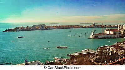 Beautiful water street - Gulf of Venice, Italy