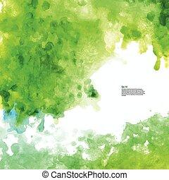 Beautiful Watercolor background