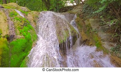 Beautiful Waterfall Dzhur Dzhur In Motion