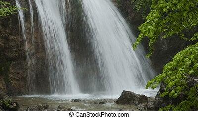 Beautiful waterfall Jur-Jur