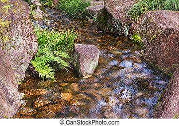 Beautiful Waterfalls in forest.