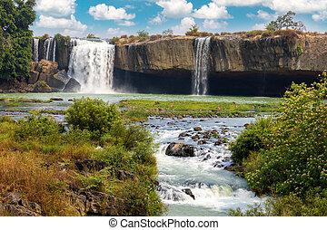 Beautiful waterfalls in Vietnam