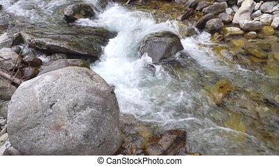 beautiful waterfals in mountains - beautiful waterfals in...