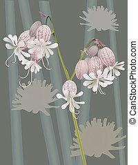 beautiful wild flower - An illustration of a beautiful wild...
