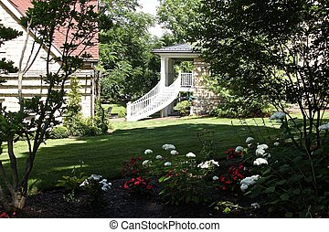 Beautiful winding deck stairs - Beautiful deck stairs wind...