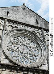 Beautiful Window in a large church