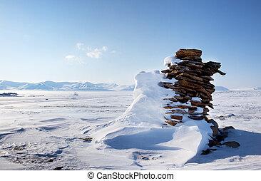 Beautiful Winter Landscape - A beautiful winter moutain snow...