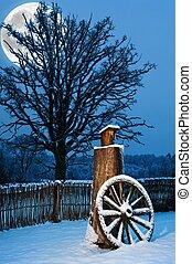 Beautiful winter scenic