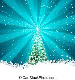 Beautiful winter template card . EPS 8